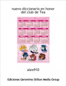 alex910 - nuevo diccionario en honor del club de Tea