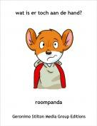 roompanda - wat is er toch aan de hand?