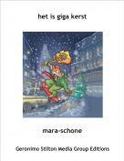 mara-schone - het is giga kerst