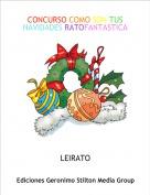 LEIRATO - CONCURSO COMO SON TUS NAVIDADES RATOFANTASTICAS
