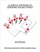 RATOFRAN - LA BARAJA ADIVINADA N1GERONIMO HOLMES POIROT