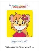 Kry------<3<3<3 - Le vostre rime, più...SONDAGGIO!!!