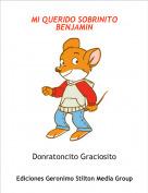 Donratoncito Graciosito - MI QUERIDO SOBRINITO BENJAMIN