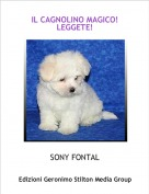SONY FONTAL - IL CAGNOLINO MAGICO!LEGGETE!