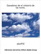 alex910 - Ganadores de el misterio de las nuves.