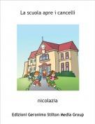 nicolazia - La scuola apre i cancelli