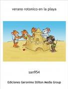 san954 - verano rotonico en la playa