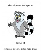 lemur 14 - Geronimo en Madagascar