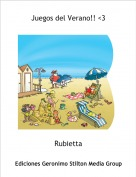 Rubietta - Juegos del Verano!! <3