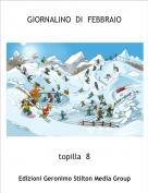 topilla  8 - GIORNALINO  DI  FEBBRAIO
