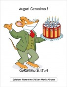 GeRoNiMo StIlToN - Auguri Geronimo !