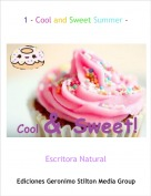 Escritora Natural - 1 - Cool and Sweet Summer -