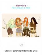 Lía - - New Girls -Personajes y más