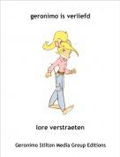lore verstraeten - geronimo is verliefd