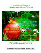 Periodista Aventurera - La navidad llega aGeronimo Stilton World