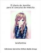 larafontina - El diario de Jenniferpara el concurso de mielcita