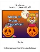 Rucia - Noche de brujas...¡¡terrorifica!!