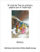 Mistery - El club de Tea en primera pagina por el reportaje