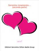 sara7 - Geronimo innamorato...(seconda parte)