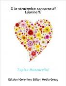 Topisa Mozzarella! - X lo stratopico concorso di Laurina!!!