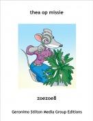 zoezoe8 - thea op missie