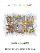 maria teresa 2003 - LA  FESTA  DI  FINE ANNO