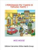 MISS MOUSE - I PERSONAGGI PIU' FAMOSI DI TOPAZIA! PARTE 1