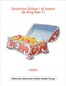 raton - Geronimo Stilton i el tesoro de Xing Mao 1!