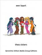 thea sisters - een kaart
