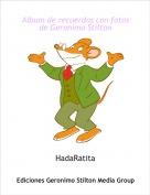 HadaRatita - Album de recuerdos con fotos de Geronimo Stilton
