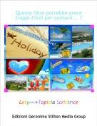 Lety--->Topizia Scrittrice - Questo libro potrebbe avere troppi titoli per contarli... 1