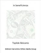 Topilde Belcanto - in beneficienza