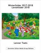 Lenner Toets - Winterfolder 2017-2018Lentefolder 2018