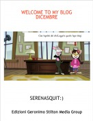 SERENASQUIT:) - WELCOME TO MY BLOG DICEMBRE