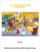 Rima - EL CUMPLEAÑOS DE TRAMPITA.