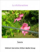 Sassix - La dichiarazione