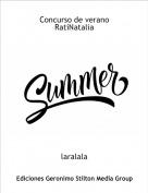 laralala - Concurso de verano RatiNatalia