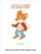 Squitta - CONSIGLI D' AMOREDAL DIARIO DI BEN