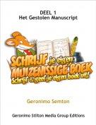 Geronimo Semton - DEEL 1Het Gestolen Manuscript