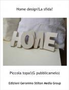 Piccola topa!(G pubblicamelo) - Home design!La sfida!