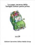 ccc29 - La super vacanza della famiglia Stilton parte prima