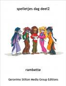 rambette - spelletjes dag deel2