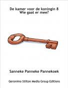 Sanneke Panneke Pannekoek - De kamer voor de koningin 8Wie gaat er mee?