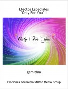 gemitina - Efectos Especiales 