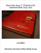 ruti3003 - Diario De Anny 7 (3ºparte):Un malentendido muy raro