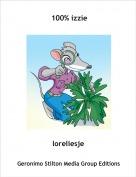 loreliesje - 100% izzie