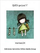 """mariaoc24 - QUESI gorjuss""""1"""""""