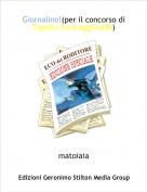 matoiaia - Giornalino!(per il concorso di Topella Formaggiosa96)