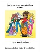 Lore Verstraeten - het avontuur van de thea sisters
