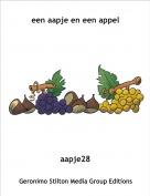 aapje28 - een aapje en een appel
